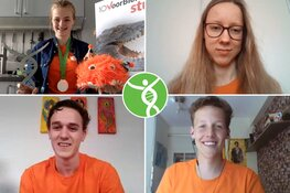 Berit Kooter wint de 30e Biologie Olympiade