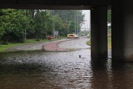 Hoosbui zorgt voor wateroverlast in Zuidoost