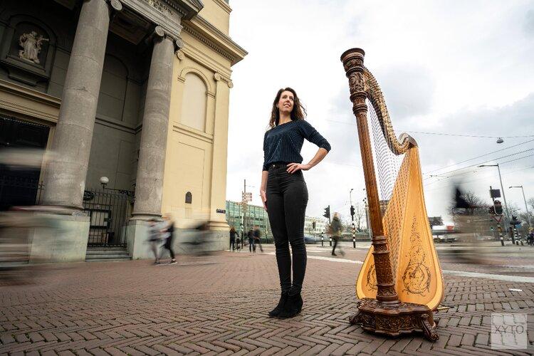 Een harp onder de riem tijdens Music in the Making