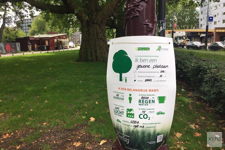 Actie #TreeTag maakt het belang van bomen voor mens en omgeving zichtbaar