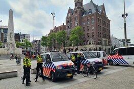 Politie paraat voor mogelijke demonstratie op de Dam