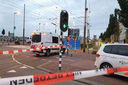 Motorrijder (37) overleden bij ongeval op de De Ruijterkade in Amsterdam