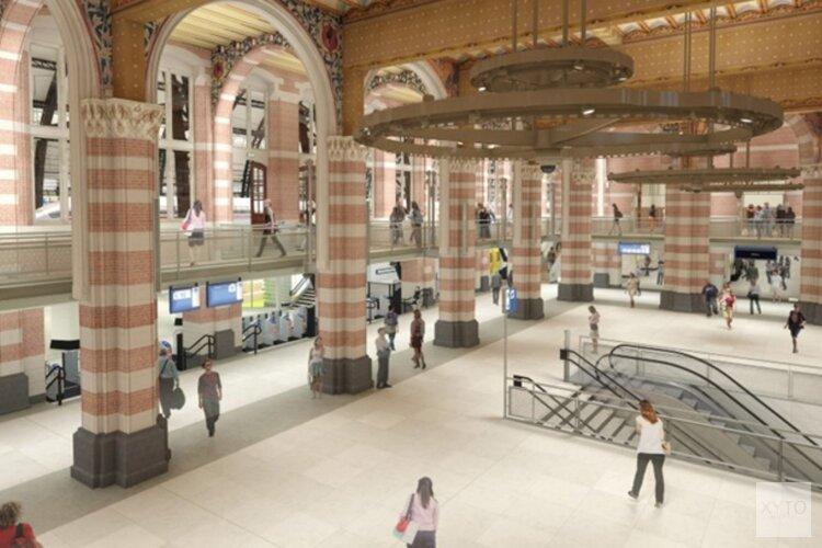 Nieuwe Cuyperstrap verbindt monumentale hal Centraal Station met ondergelegen metrostation