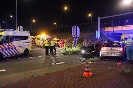 Meerdere gewonden bij zwaar ongeval op Karspeldreef