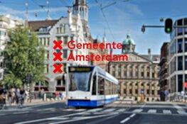 Extra maatregelen vanwege drukte in de Amsterdamse binnenstad