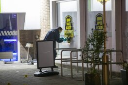 Kogelregen op sportgebouw Johan Huizingalaan