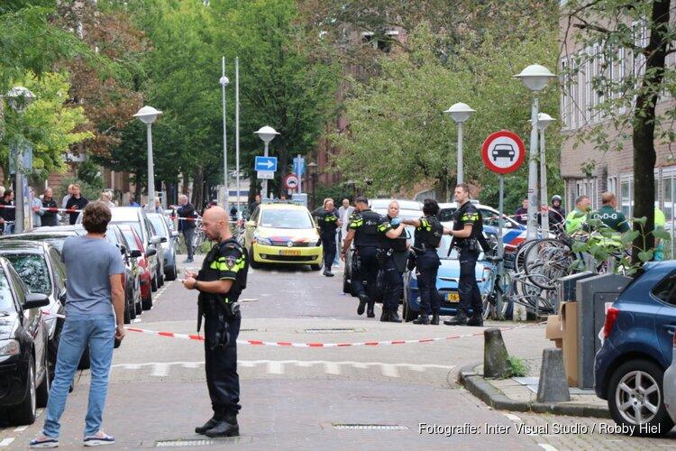 Schutter gevlucht na schietincident in de Vechtstraat
