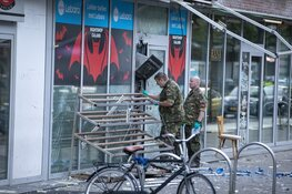 Explosie bij bedrijf op Pieter Calandlaan, EOD ingezet