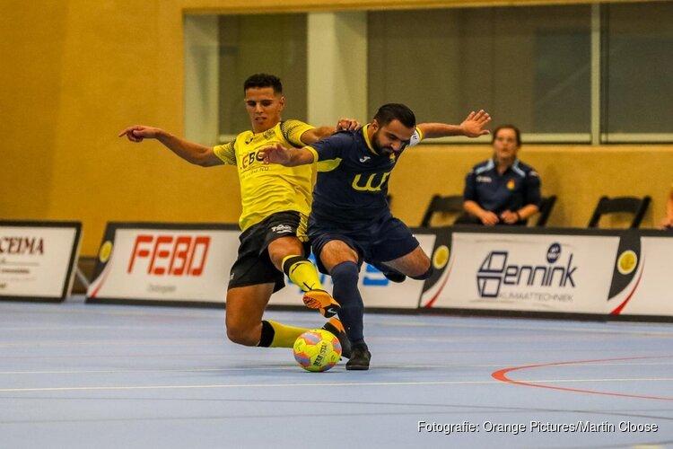 Start Eredivisie Zaalvoetbal:  HV Veerhuys wint bij ASV Lebo