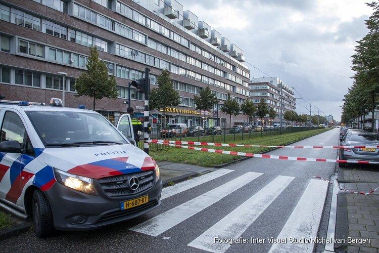 Explosie veroorzaakt schade aan pand Pieter Calandlaan