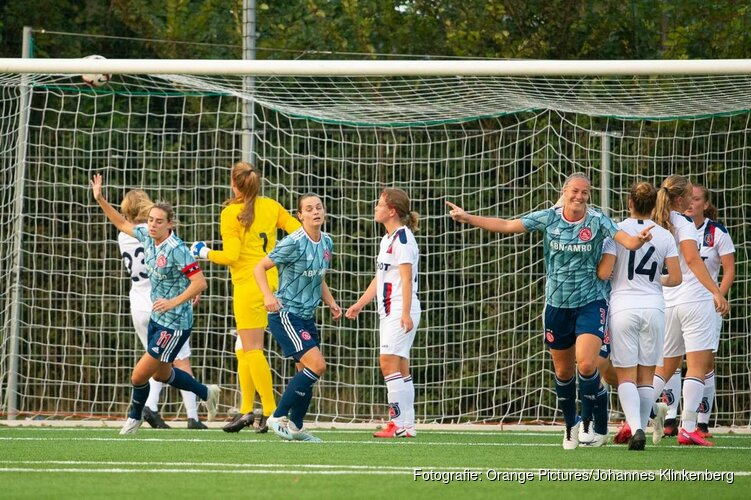 Ajax maatje te groot voor VV Alkmaar in Noord-Hollandse vrouwenderby