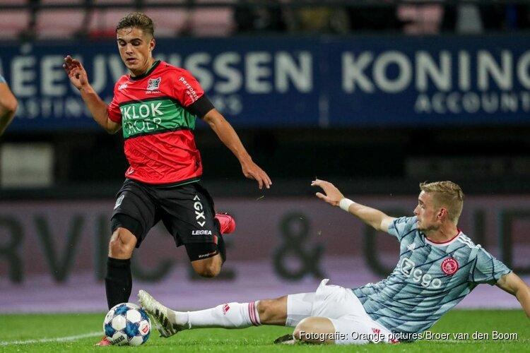 Sterk NEC langs Jong Ajax