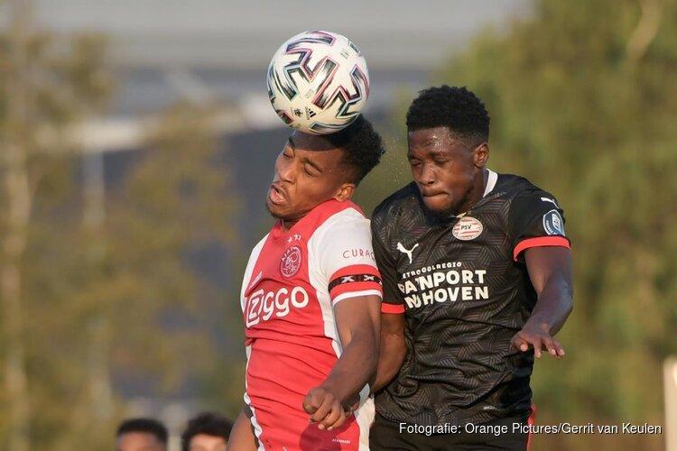 Derde nederlaag voor Jong Ajax, Jong PSV wint op De Toekomst