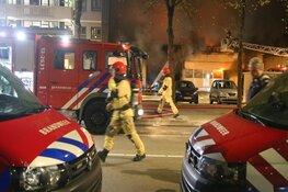 Tientallen woningen ontruimd na grote brand kringloopwinkel Postjesweg
