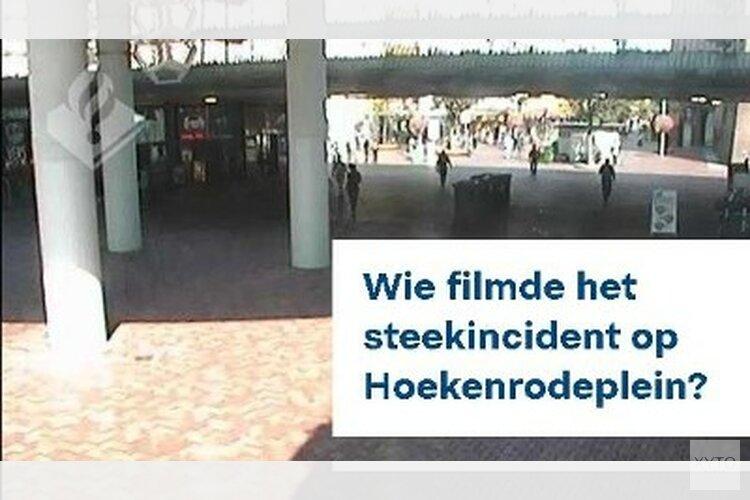 Wie filmde het steekincident Hoekenrodeplein