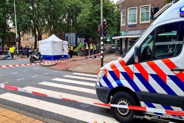 Persoon overleden na ongeval in Amsterdam