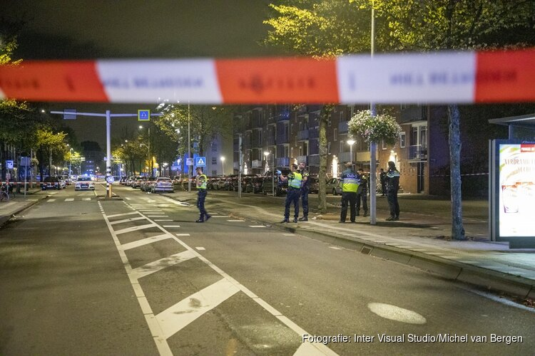 Man neergeschoten en explosief aangetroffen Osdorperban