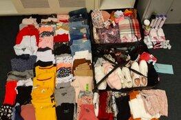 Politie vindt duizend gestolen kledingstukken. Drie vrouwen aangehouden
