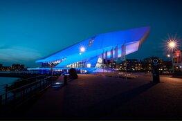 Eye kleurt vanavond VN-blauw voor 75 jaar Verenigde Naties