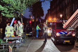 Persoon te water geraakt in Amsterdam