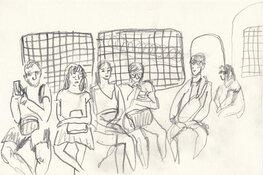 Stedelijk Museum verwerft activistische tekeningen van twee Russische kunstenaars