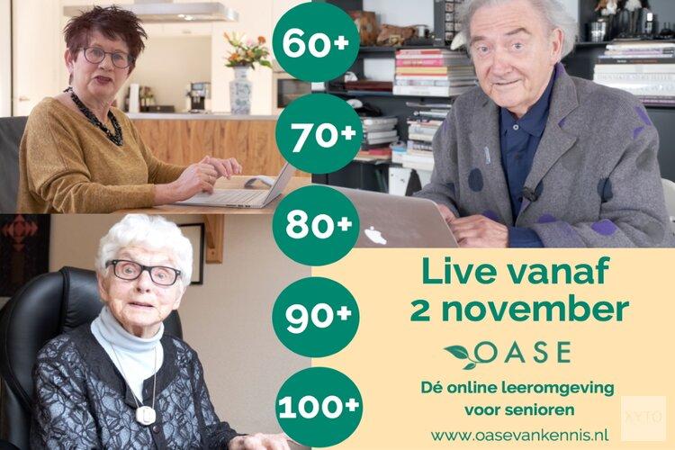 Stichting Oud Geleerd Jong Gedaan en SkillsTown lanceren online academie voor senioren