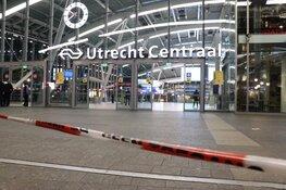 Utrecht CS ontruimd, politie doorzoekt trein