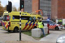 Persoon gewond bij ongeval op bouwplaats in Amsterdam
