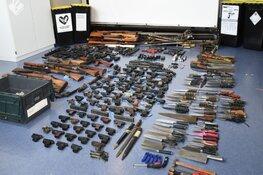 Meer dan 330 wapens ingeleverd bij inleveractie