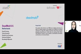 Amsterdamse startup Deedmob wint internationale tech vrijwilligersprijs