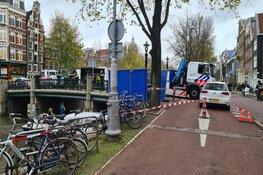 Lichaam gevonden in het water in Amsterdam