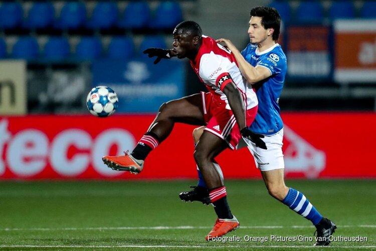 FC Den Bosch pakt toch nog punt tegen Jong Ajax