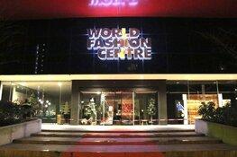 Ramkraak bij World Fashion Center