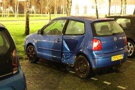 Aanrijding tussen 2 auto's op Schiphol-Rijk