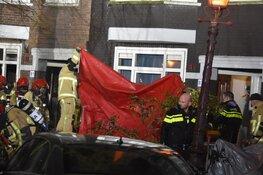 Zwaargewonde bij brand in Transvaalstraat