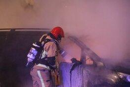 Auto door brand verwoest in Buitenveldert