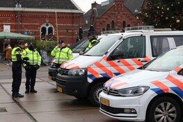 Veel politie aanwezig voor demonstratie in Westerpark