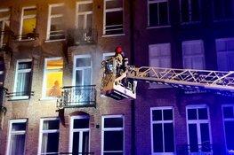 Brand in appartement Pieter Langendijkstraat